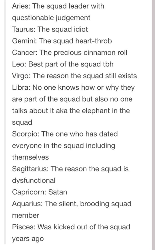 Zodiac Squad Rolls lol I love mine!! LEO- best part of the squad ...