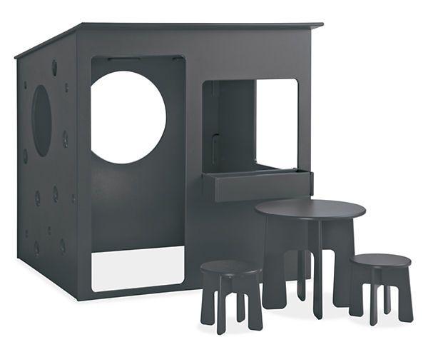 Marvelous Room U0026 Board   Loki Playhouse With Furniture Set Design Ideas