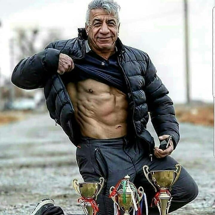 AGE IS NO EXCUSE 💪💯 ----- Follow @fitnessloverspoint Dm for credit respective owners 🙏 -------------------