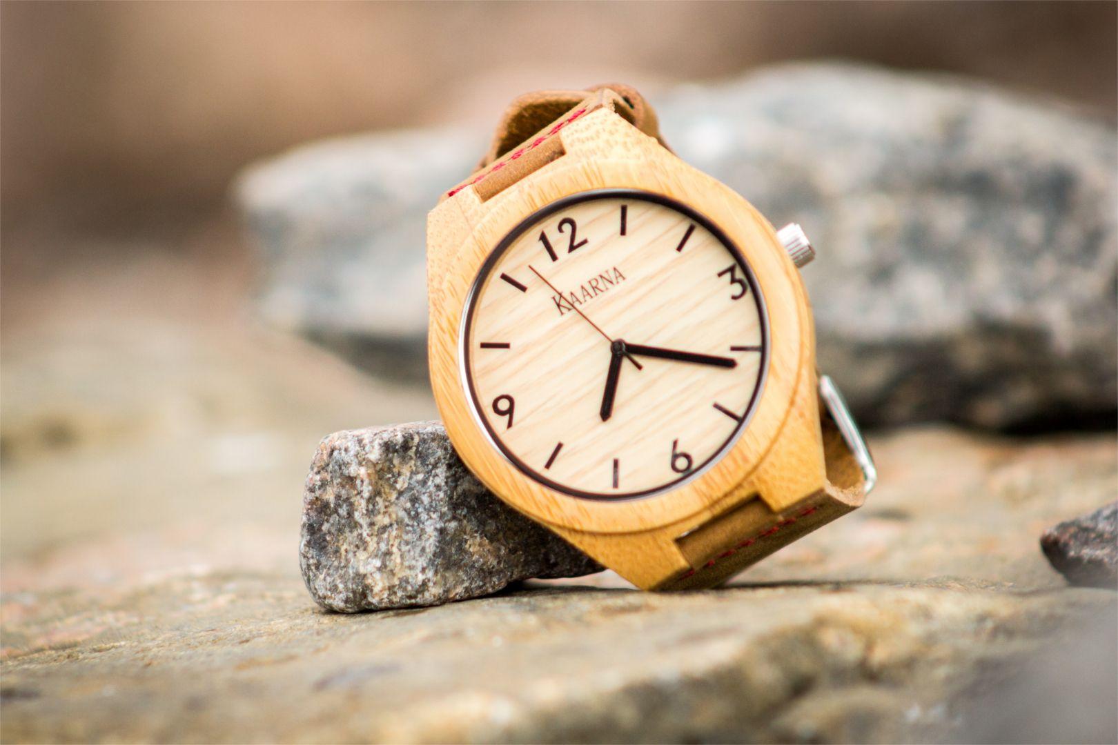 Puinen Kaarna -kello #kaarnakellot #syksy