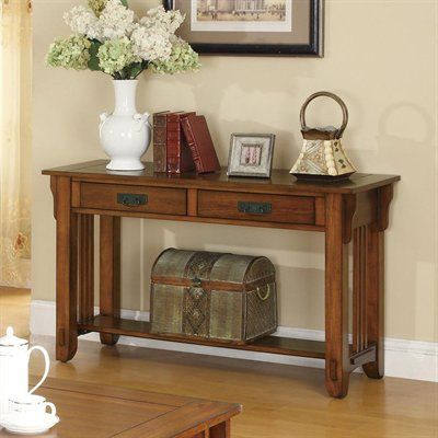 Coaster fine furniture 702009 sofa table living room tables occasional group 2 drawer sofa table with shelf by coaster barebones furniture sofa tablesconsoles watchthetrailerfo