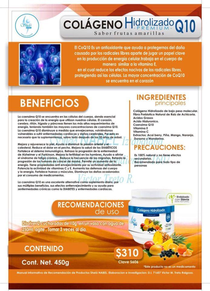 Pin De Dal En Shelo Colageno Hidrolizado Energia Celular Y
