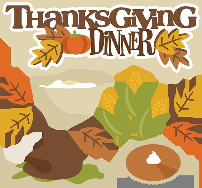 Thanksgiving Dinner SVG turkey svg thanksgiving svgs svg