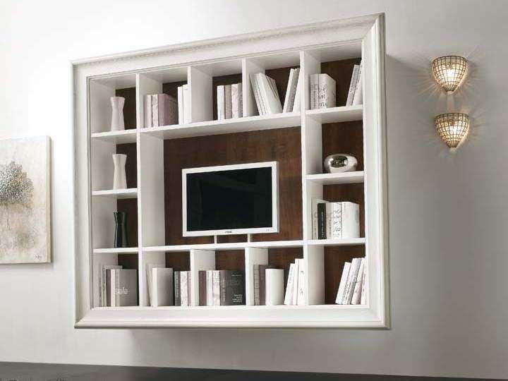 Parete attrezzata , libreria , porta tv mod. \