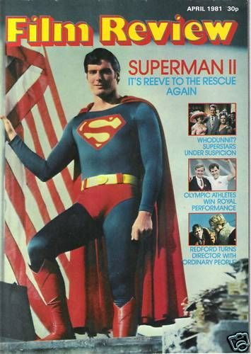 Christopher Reeve Film Review Magazine United Kingdom April