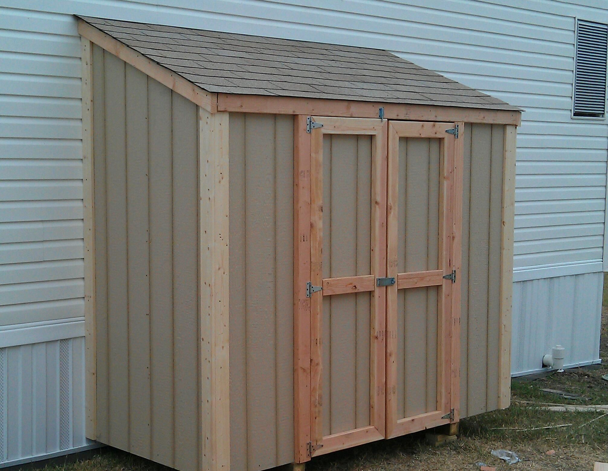 3x12 Lean to shed wall framing Puutarha Pinterest