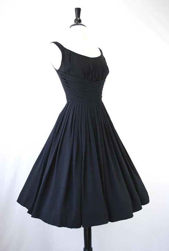 01dafff9eb80 Vintage 50s Dress Party dress | Channeling my inner Lucille Ball ...
