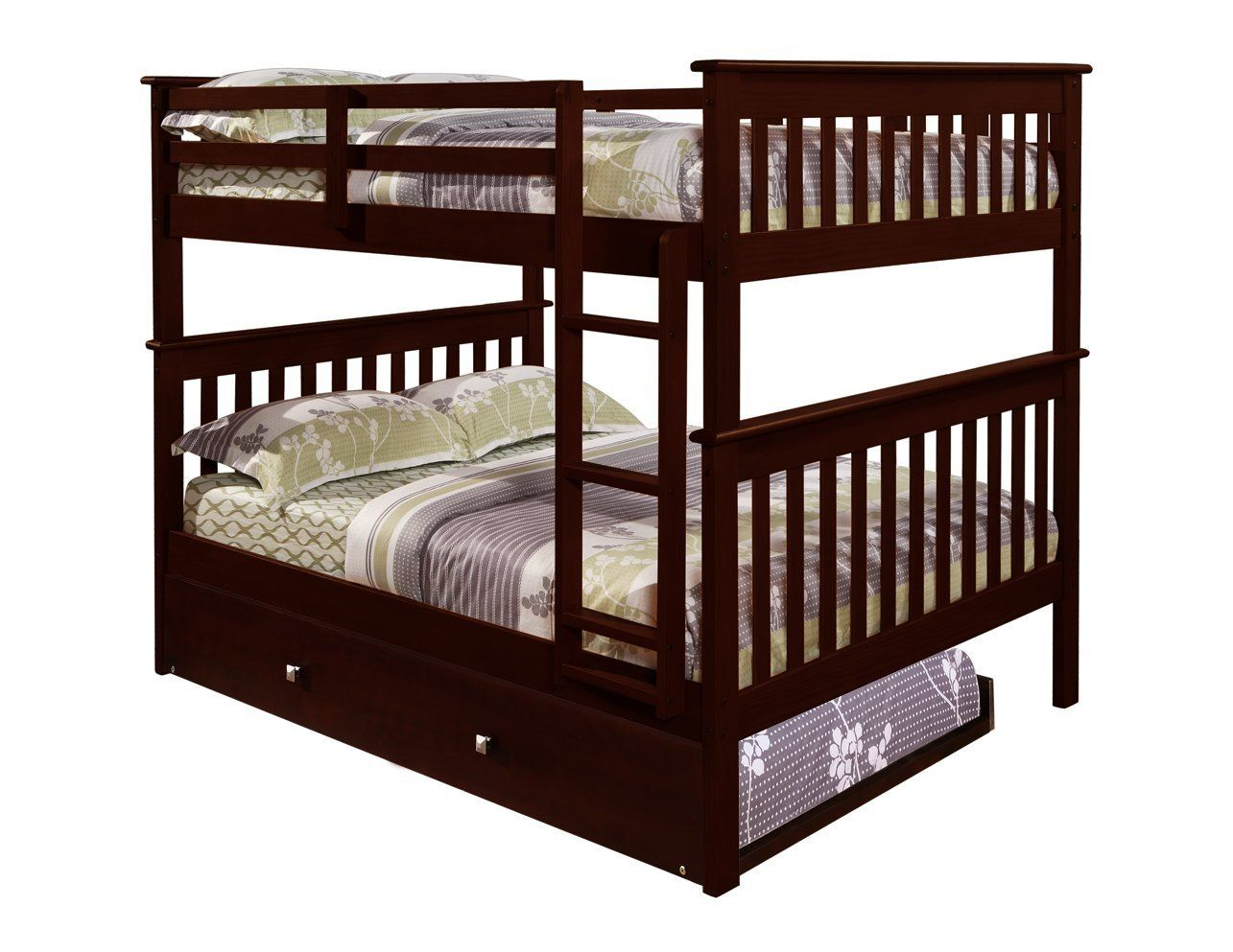 Double loft bed with stairs  Often selected for use by older children and some adults who need