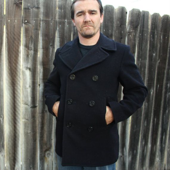 1966 U.S. Navy Wool Peacoat~Never Out of Style | MR. MAN ...