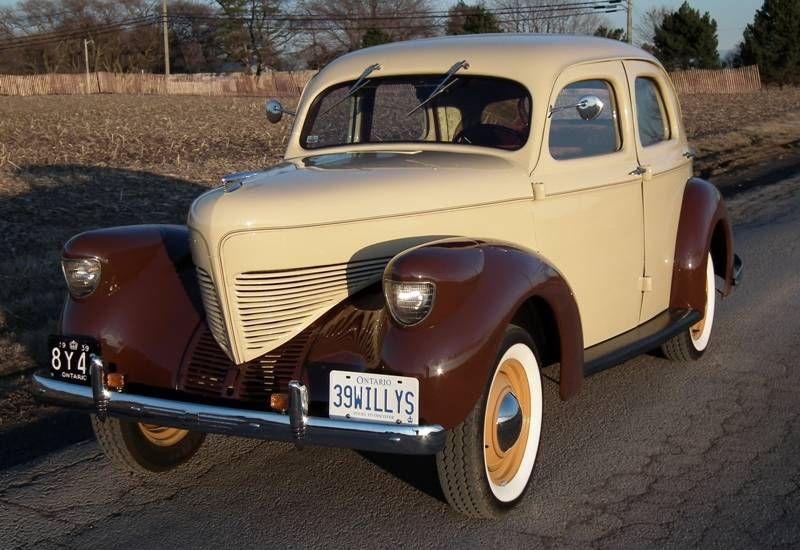 1939 Willys Overland Model 39 Four Door Willys Overland Co