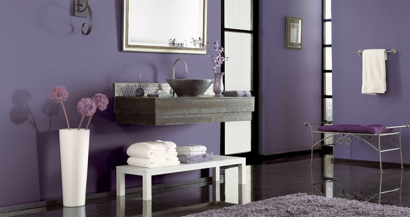 Colour Splash Let It Rain Purple Purple Bathrooms Purple Room