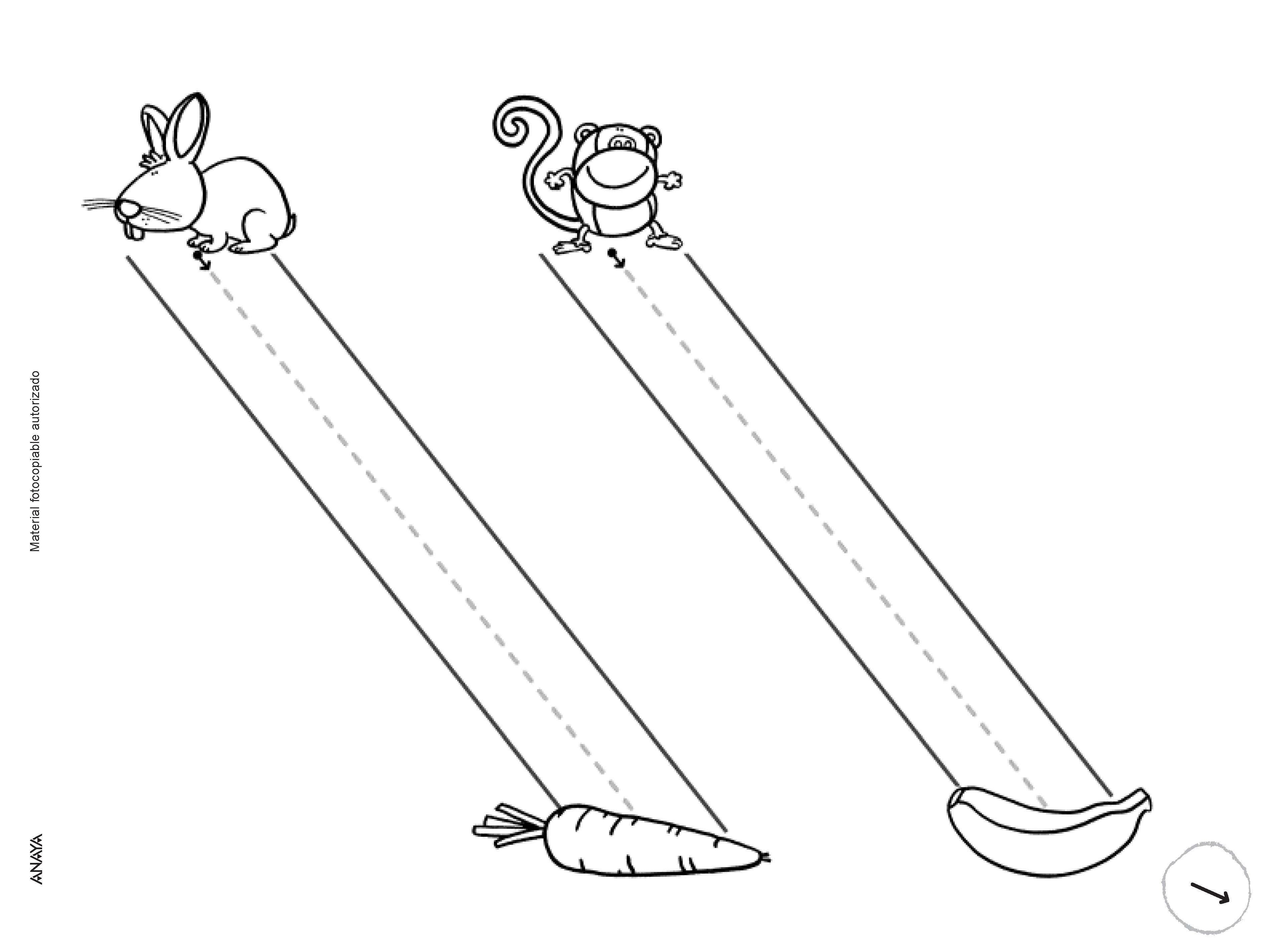 Línea inclinada | Motricidad/ Actividades Sensoriales | Pinterest ...