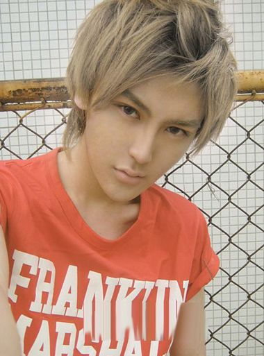 Japanese Anime Style Mens Hairstyles Hairstyles Trend Hair