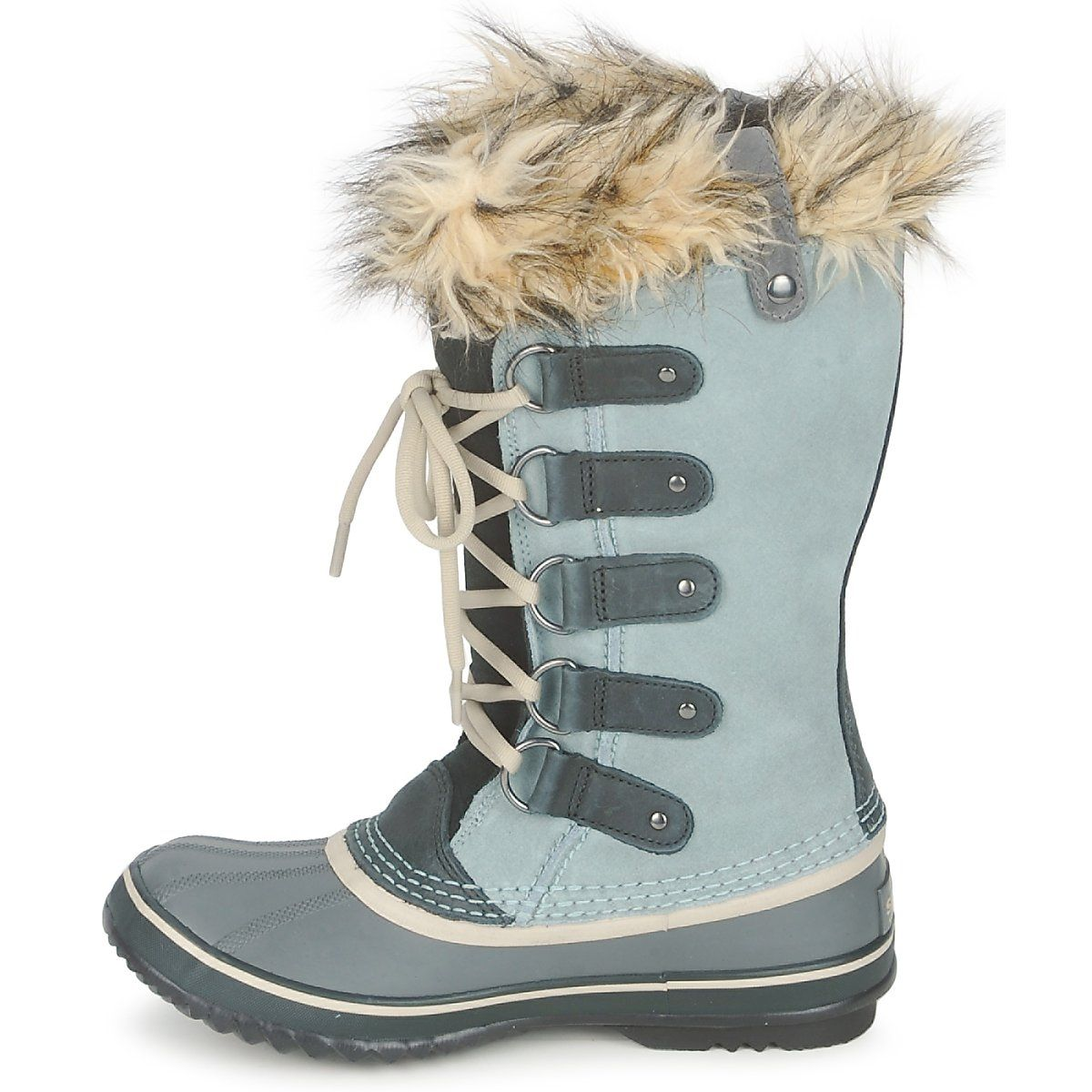 0883fc5f58eb84 Bottes de neige Sorel JOAN OF ARCTIC GRIS - J adore .... Elle me ...