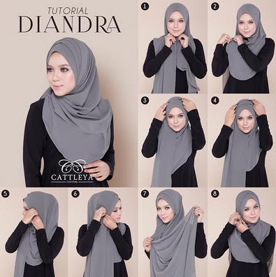 Pin Di Model Hijab