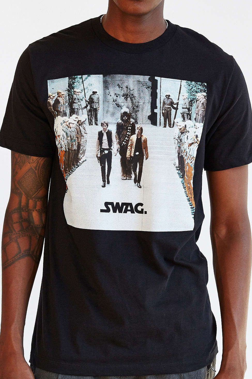 Star Wars Swag Tee Urban Outfitters Swag Tee Urban Outfitters Star Wars Shirts [ 1463 x 975 Pixel ]