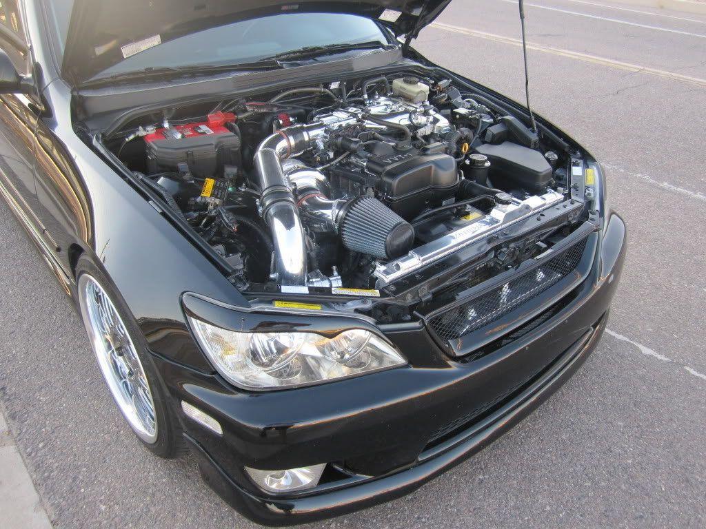 Lexus is 350 turbo kit