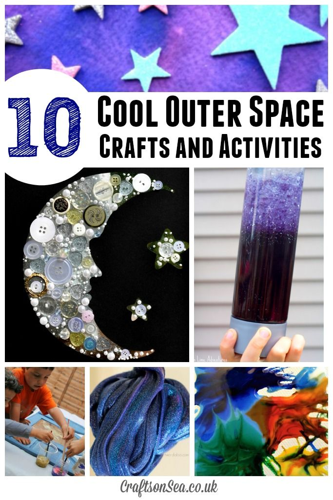 The coolest outer space crafts for kids awesome space for Outer space crafts