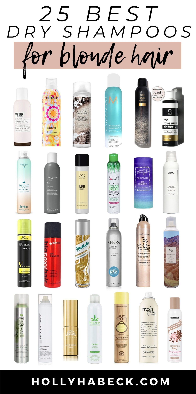 25 Best Dry Shampoos For Blonde Hair Good Dry Shampoo Dry Shampoo Dry Shampoo Oily Hair