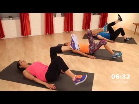 10 Minute Abs And Core Workout Without Crunches Class Fitsugar Youtube Abs Workout Ten Minute Abs 10 Minute Abs