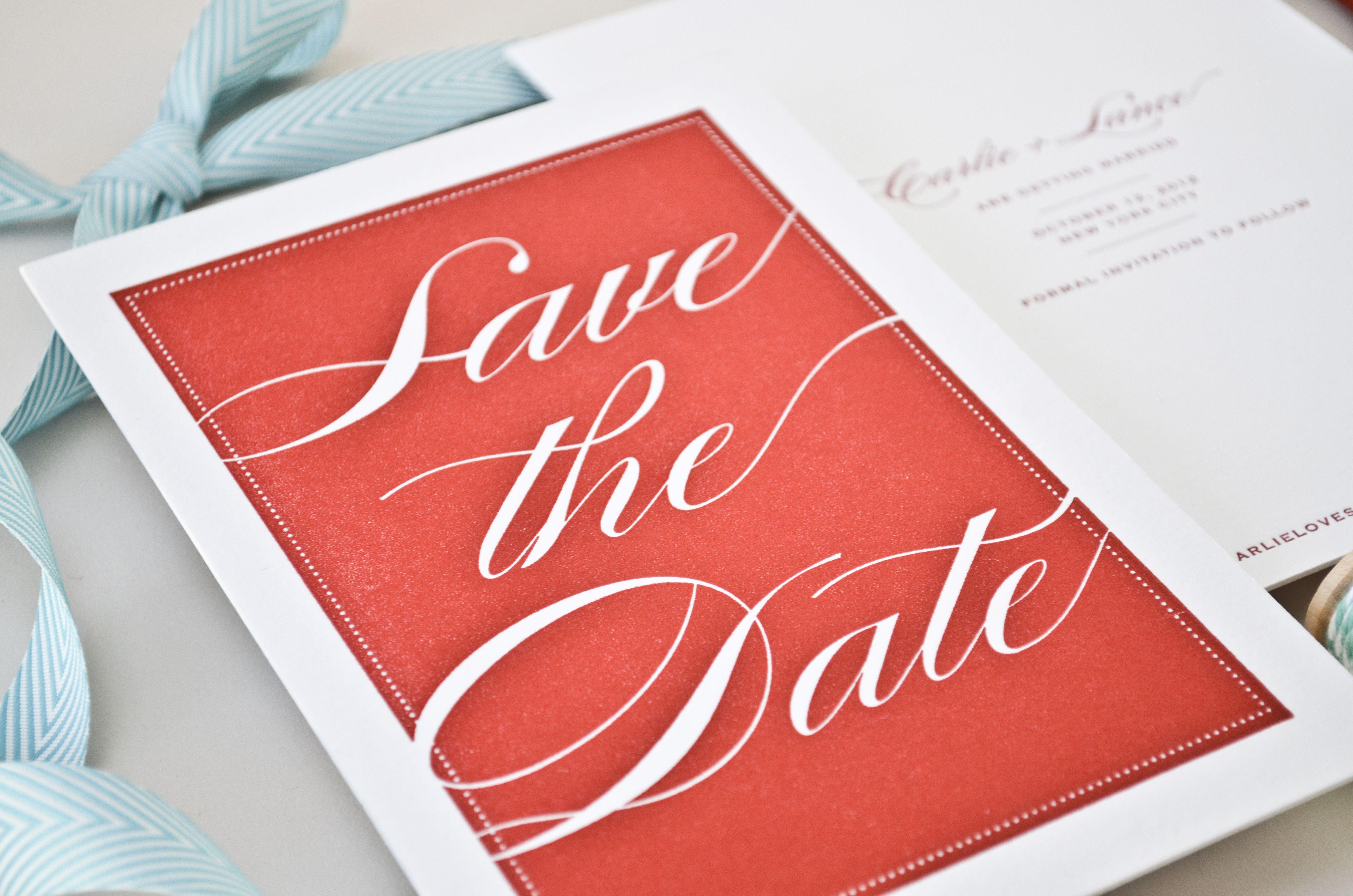 Custom Designs & Letterpress by The AV Design Factory | Invitations ...