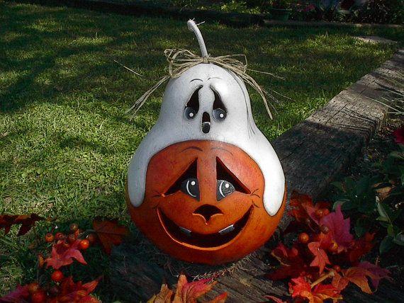 pumpkin gourd decorative items pinterest bemalte. Black Bedroom Furniture Sets. Home Design Ideas