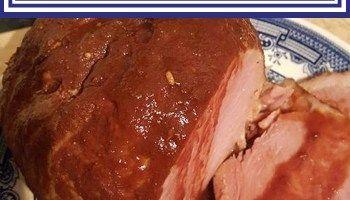 BBQ Gammon – Slow Cooker Slimming World Recipe