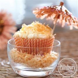 Tropical Breeze Cupcakes from Pillsbury™ Baking