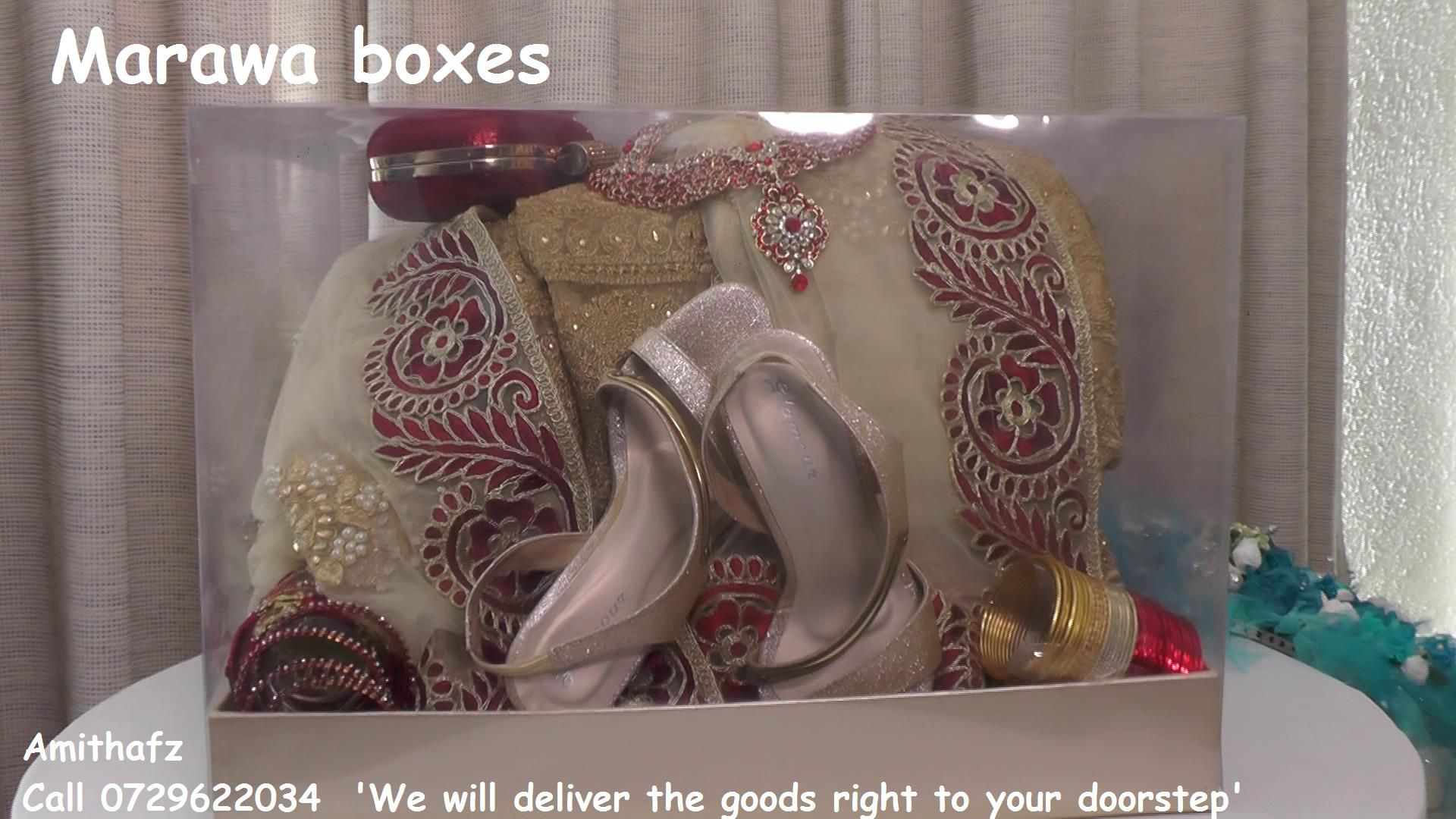 Nikkah Marawa Wedding Engagement Boxes Designs Shape