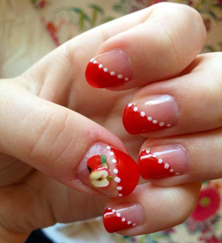 Fimo Apple Nails Fimo Nail Designs Ella Hays Pinterest Nail