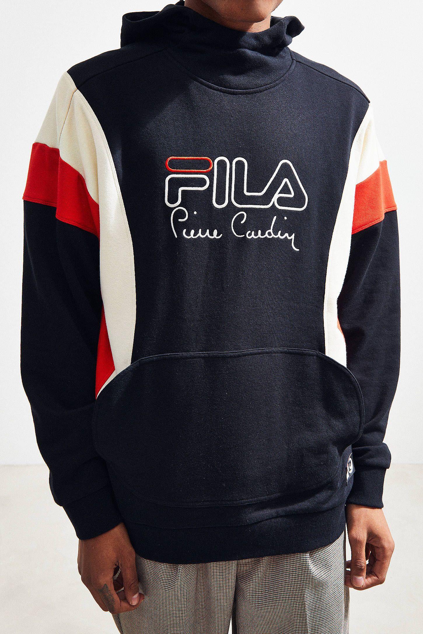 4d5ca125e87e FILA + Pierre Cardin Bubble Hoodie Sweatshirt