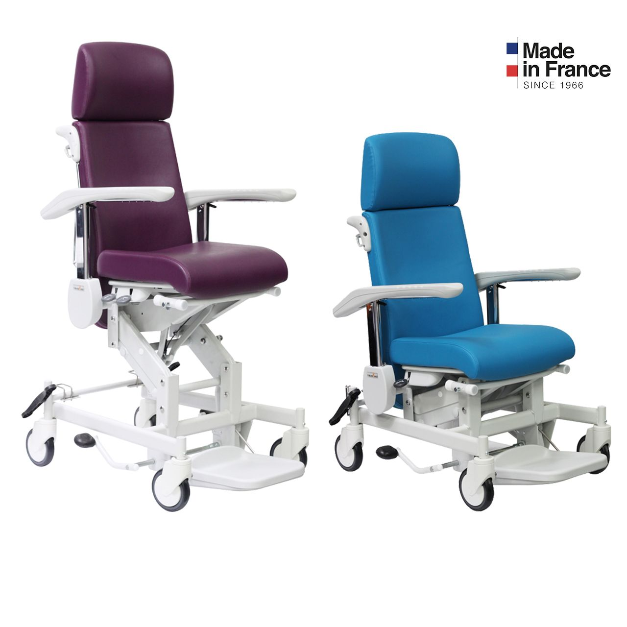 Iris Fauteuil Medical A Hauteur Variable Madeinfrance Personnel Soignant Fauteuil Medical Medical