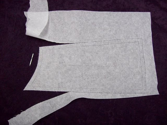 Off The Cuff ~Sewing Style~: How to Add Seam Allowances to Traced Patterns...the Easy Way