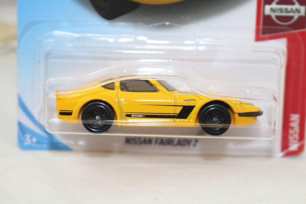 Hot Wheels Nissan Fairlady Z 5 5 C Case Nissan Series New