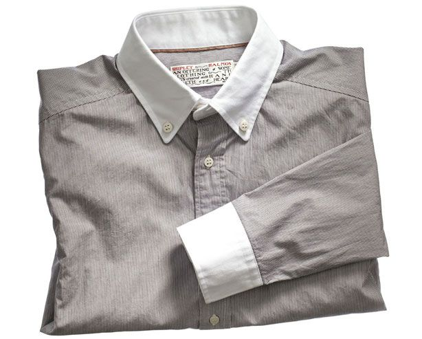 Shipley & Halmost shirt for The Esquire Collection