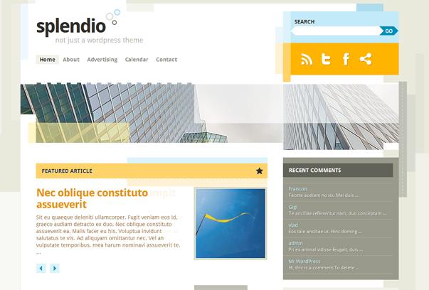 Splendio   Site Themes   Pinterest