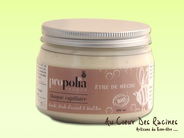 Masque capillaire Propolia - Karité Avocat Miel -