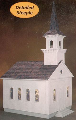 Country Church Precut Kit DOLLHOUSE Pinterest Woodworking