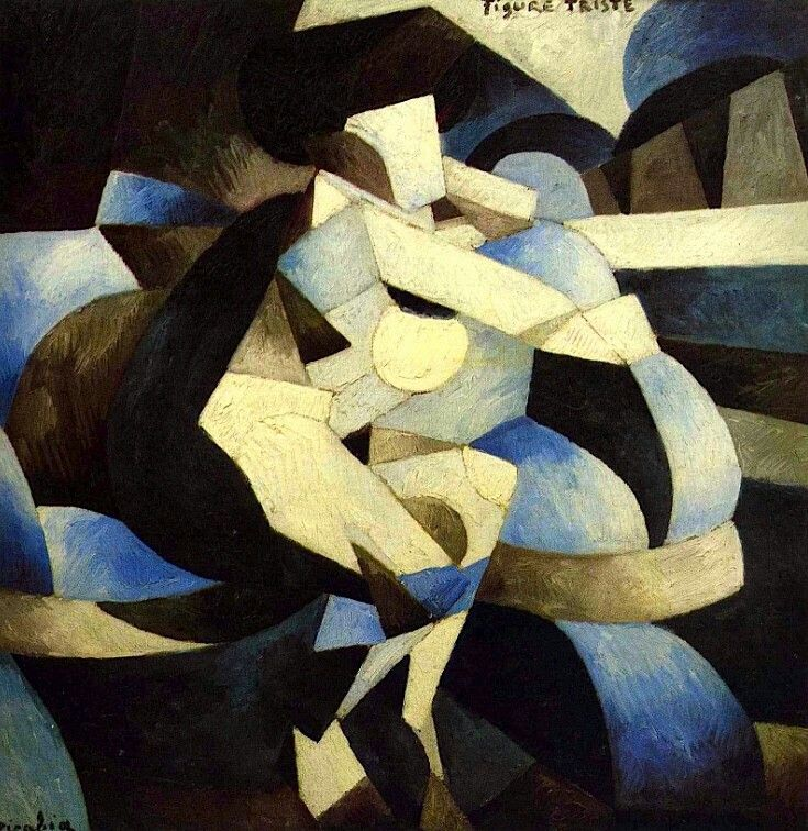 Francis Picabia - Sad Figure (1913)