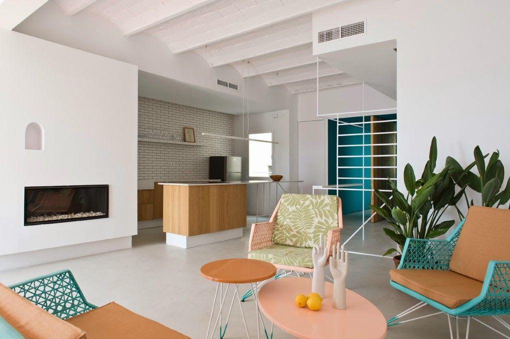 Apartamento de vacaciones en Barcelona   La Bici Azul: Blog de decoración, tendencias, DIY, recetas y arte