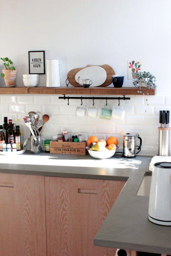 Küche | SoLebIch.de #solebich #küche #ideen #streichen #wandgestaltung  #skandinavisch #ordnung #offene #einrichtung #gestalten #arbeitsplatte #deku2026