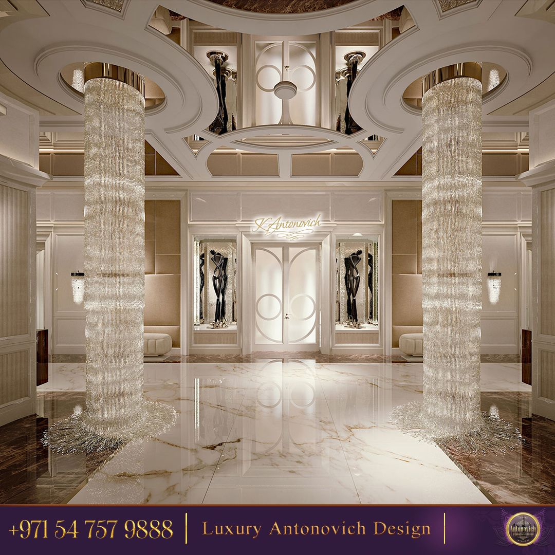 How amazing are these crystal columns welcome home contact us