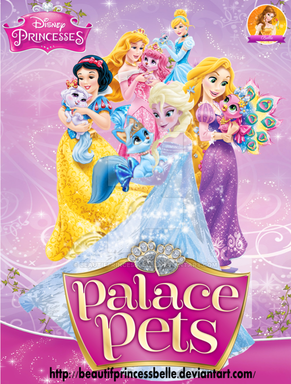 Palace Pets Cake Topper