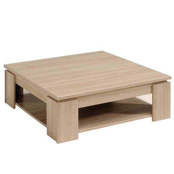 Table Basse Carree Borneo Mdf Coloris Bruges Table Basse Table Basse Carree Mobilier De Salon