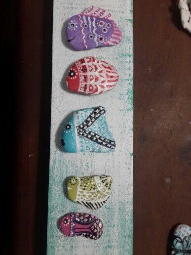 piedras#peces#color