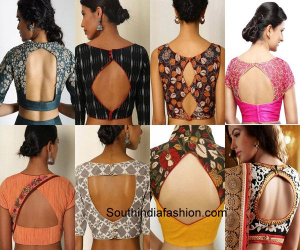 224f071c13707 South Indian Fashion Designer Blouses  South india India rh pinterest.co.uk