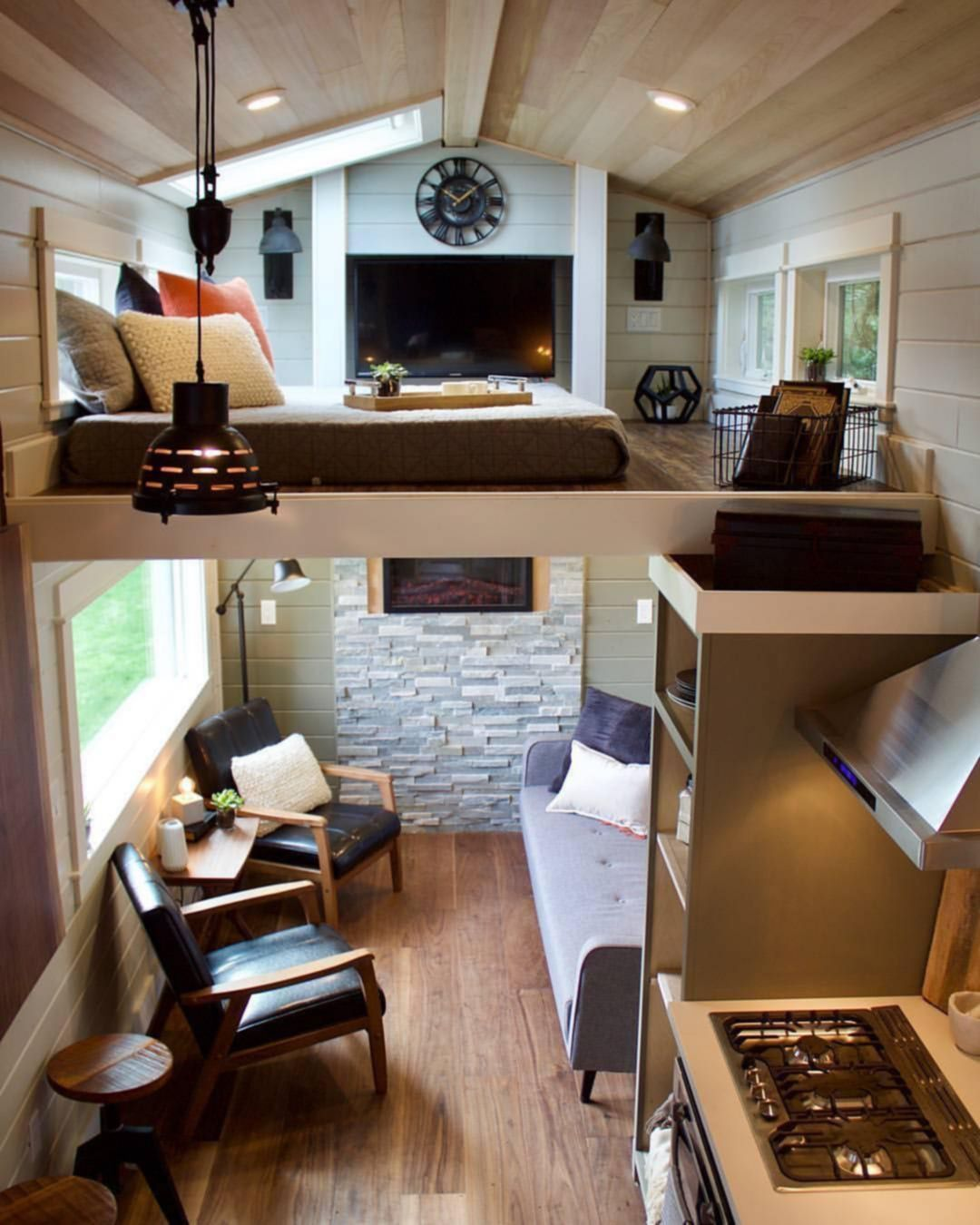 30 Simple Tiny House Interior Ideas For Inspiration Tiny House Interior Design Tiny House Living Room Tiny House Interior