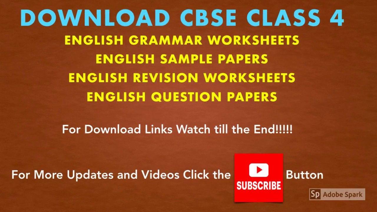 Cbse Class 4 English Grammar Worksheets Question Papers Question Paper Math Practice Worksheets Grammar Worksheets [ 720 x 1280 Pixel ]