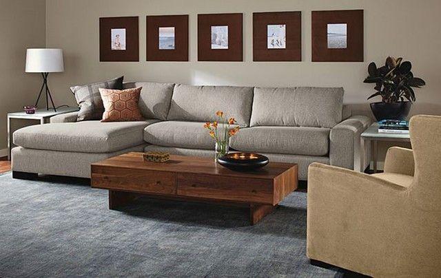 50 idées fantastiques de canapé d\u0027angle pour salon moderne Living - couleur pour salon moderne