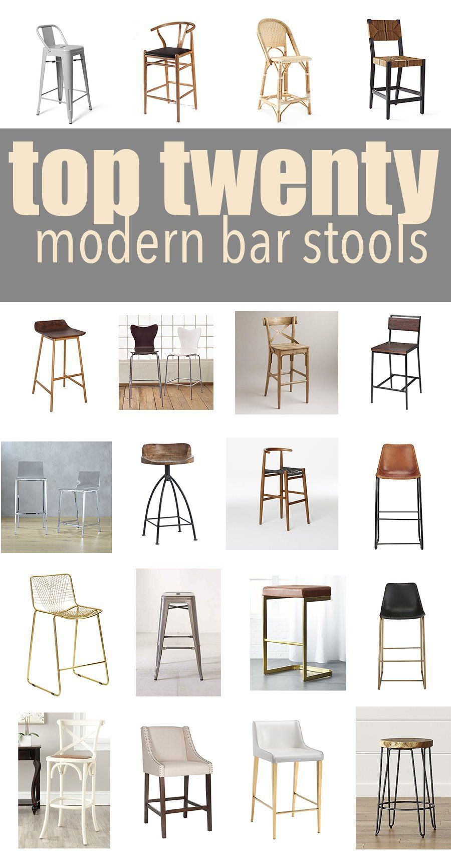 Top 10 Modern Kitchen Bar Stools  CC and Mike  Lifestyle and